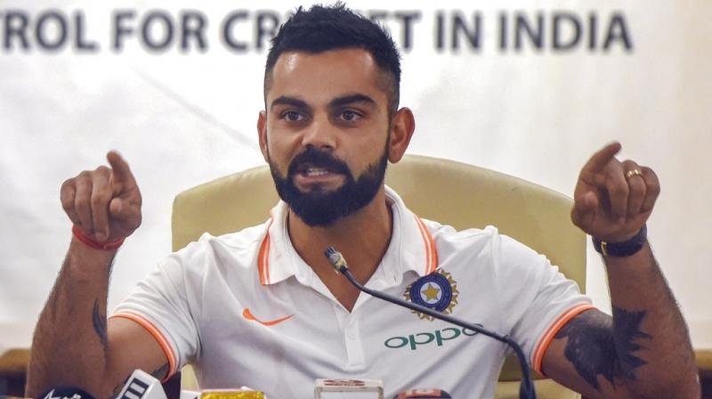 Kohli's plea comes after a group of American tourists witnessed eight men violently beating the elephant at Amber Fort in June 2017. (Photo: PTI)