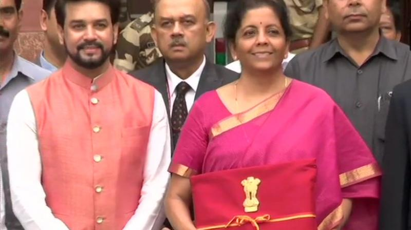 The budget speech didn't find the mention of Antrix Corporation being replaced by NSIL. (Photo: ANI)