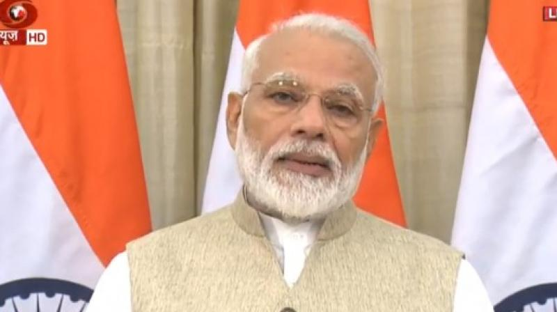 Prime Minister Narendra Modi met women MPs of the BJP over breakfast at his residence on Friday, the fifth in the series of meetings with a cross-section of parliamentarians from the party. (Photo: File)