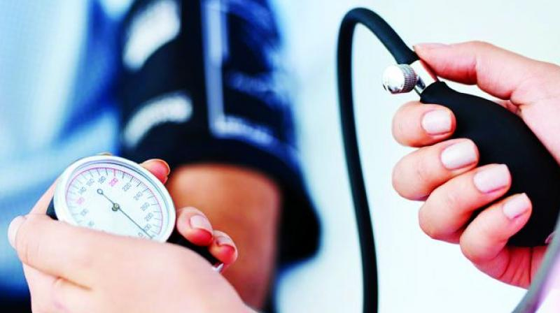 The risk of brain lesions was higher in people with higher average systolic blood pressure across the years. (Photo: File)