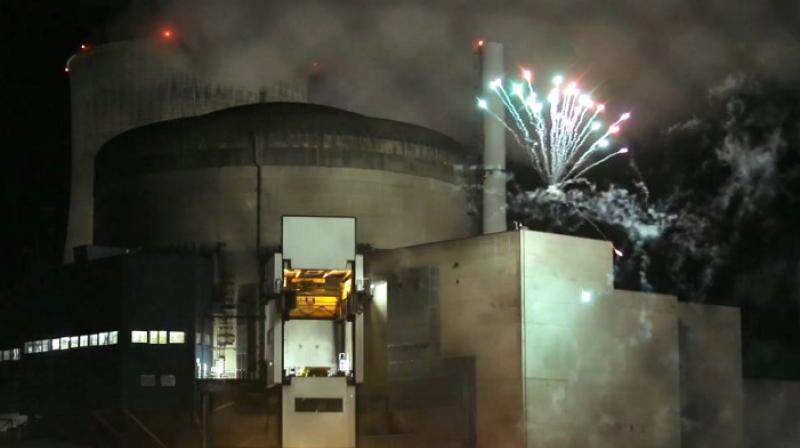 Activists launched a firework in the perimeter of a French nuclear plant (Representational Image   AFP)