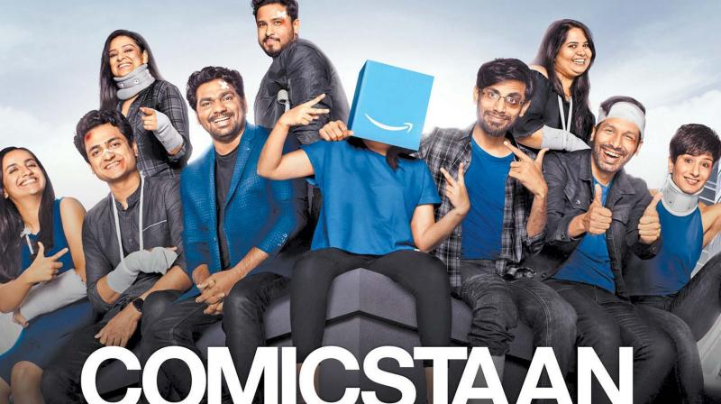 The critically acclaimed stand-up show Comicstaan  does not have  any participant performing in regional languages