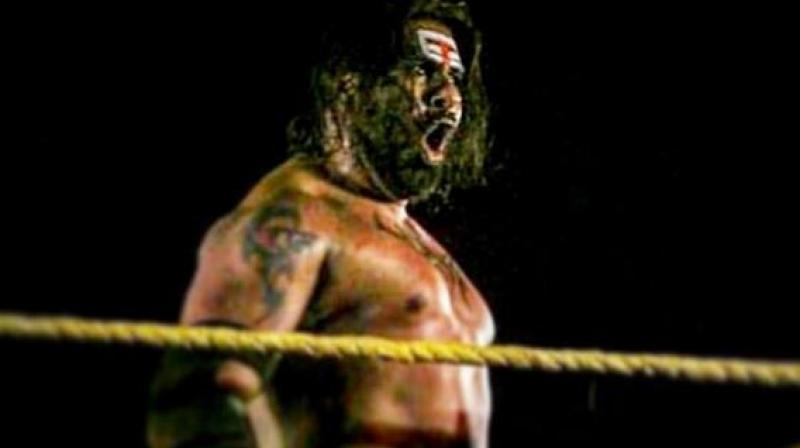 Despite being out of action between 2013 and 2016, the Uttar Pradesh athlete went onto sign a contract with WWE in 2018. (Photo: Instagram / Rinku Singh Rajput)