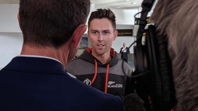 New Zealand men's team which is known as BlackCaps in a tweet revealed that some players and support staff arrived back in Auckland. (Photo: BlackCaps/Twitter)