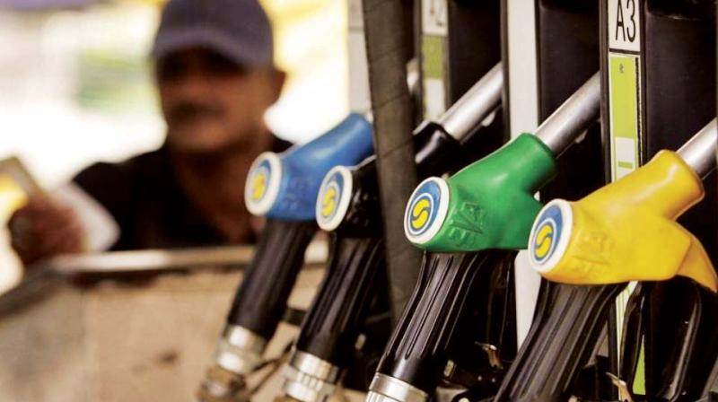 In Mumbai, petrol is now by 75.77 per litre while diesel is by 67.18, an increase of 38 paise and 52 paise, according to the Indian Oil Corporation.