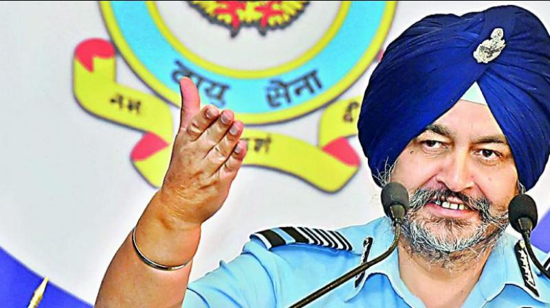 Chief of Air Staff Air Chief Marshal B.S. Dhanoa