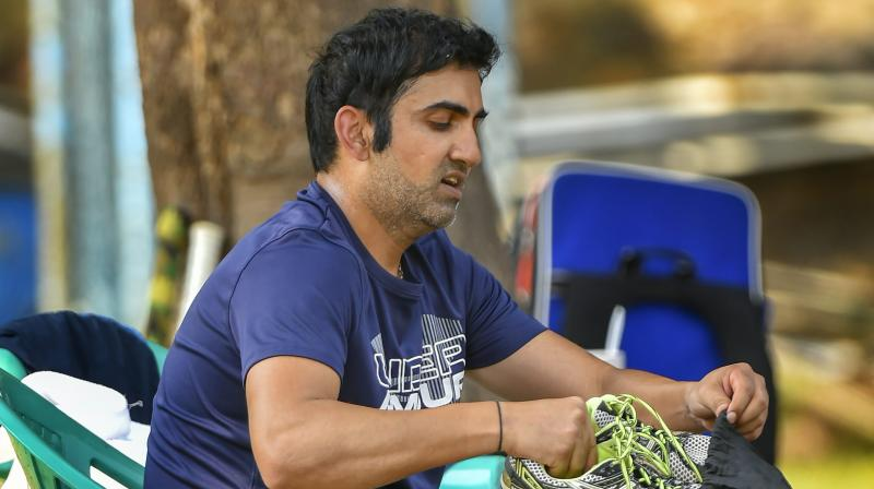 While it's a dream for any player to retire in an Indian jersey, Gambhir will be happy that he is calling it quits on his own terms even though his state team is in a spot of bother. (Photo: PTI)