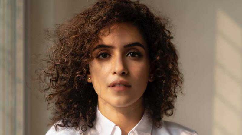 Sanya Malhotra. (Photo: Instagram)