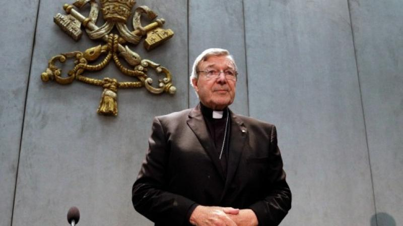 Pell remained silent throughout with magistrate Duncan Reynolds ruling the brief of evidence needs to be handed to his legal team by September 8, with the next court date set for October 6.  (Photo: AP)