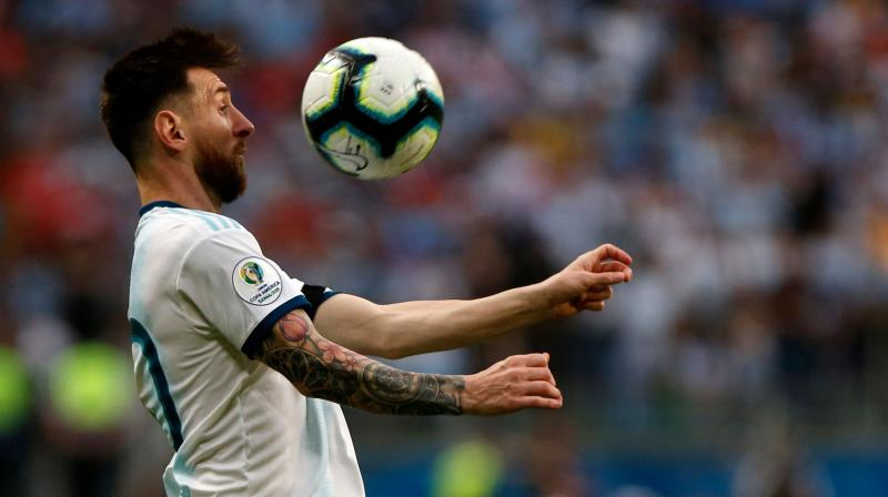 Ironically, at this tournament, while Argentina's performances have been improving steadily, Messi has, if anything, become less influential. (Photo: AFP)