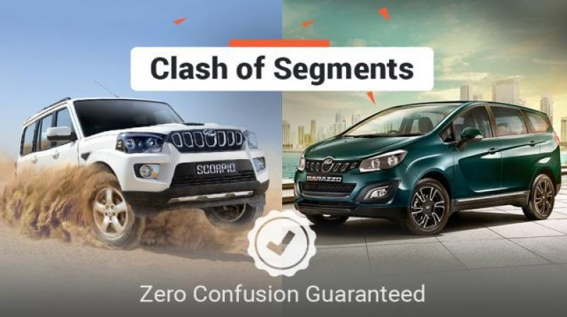 Clash Of Segments Mahindra Marazzo Vs Mahindra Scorpio Which Car