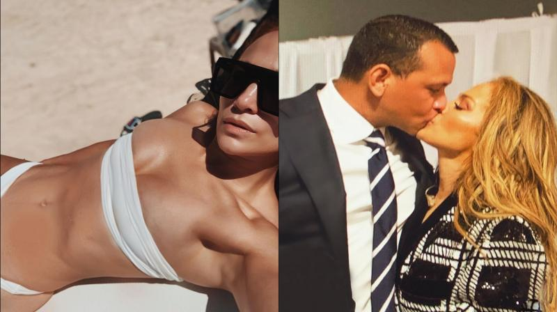 Alex Rodriguez and Jennifer Lopez. (Photo: Instagram)