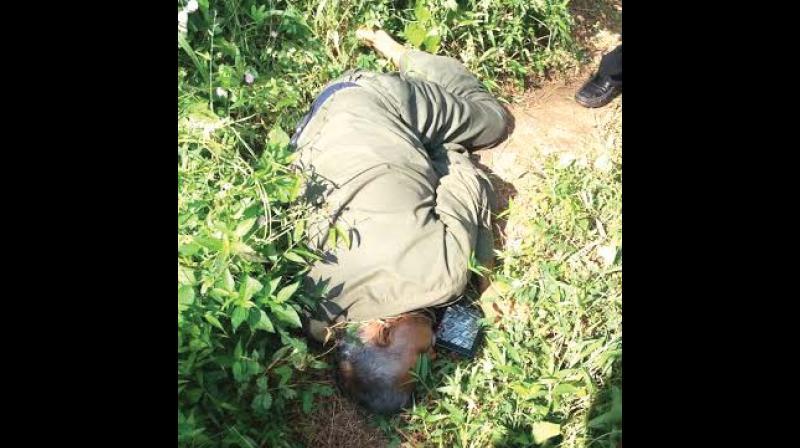 Bodies of slain maoists Kuppu Devaraj —POLICE SOURCES