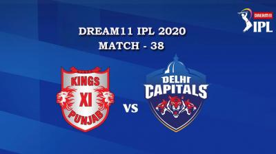 KXIP VS DC  Match 38, DREAM11 IPL 2020, T-20 Match