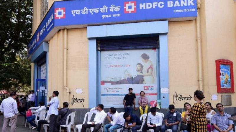 HDFC surges over 6 pc as board approves fundraising plan