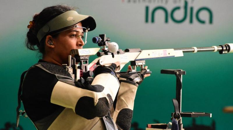 CWG 2018: Tejaswini Sawant wins Silver in 50m Rifle Prone event