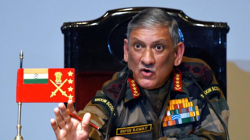 Army Chief General Bipin Rawat. (Photo: PTI)