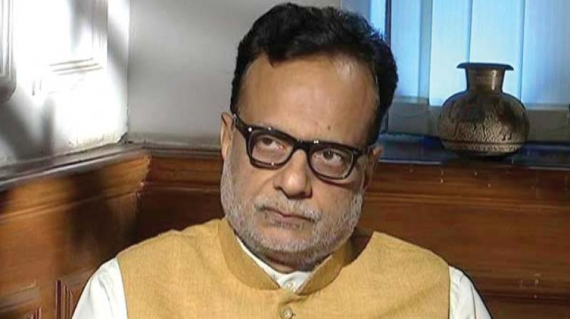 Finance secretary Hasmukh Adhia.