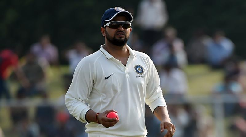 Image result for suresh raina in test matches