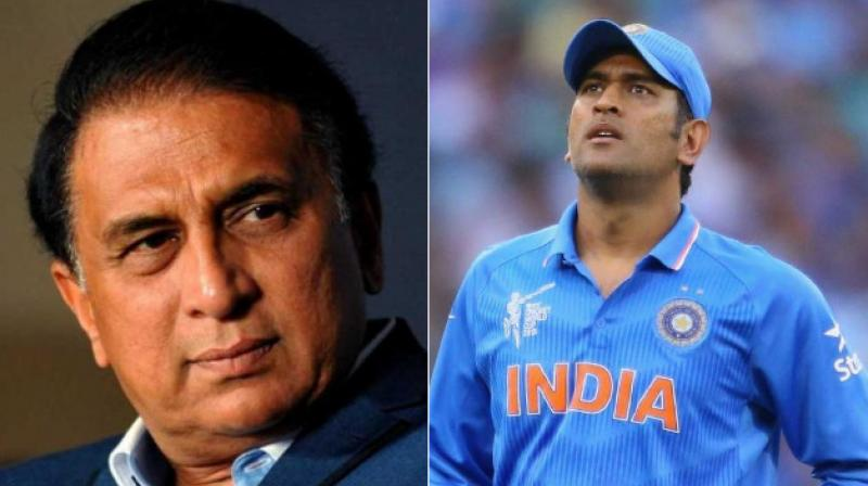 Sunil Gavaskar came in support of the Jharkhand cricketer, saying that Dhoni alone should not be blamed for the loss to New Zealand in the second T20 at Rajkot, but it was the responsibility of the entire team to perform well.(Photo: AFP)