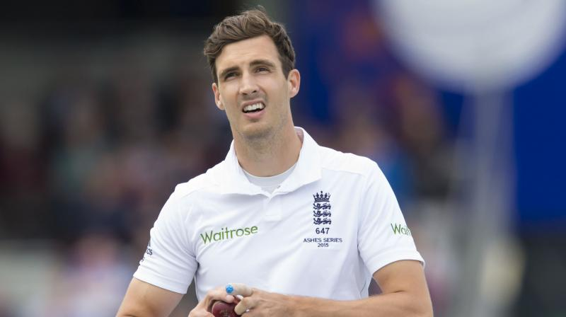 A tall fast bowler, Steven Finn has taken 125 wickets in 36 tests but has played only two of those matches in Australia, both in 2010.(Photo: AP)