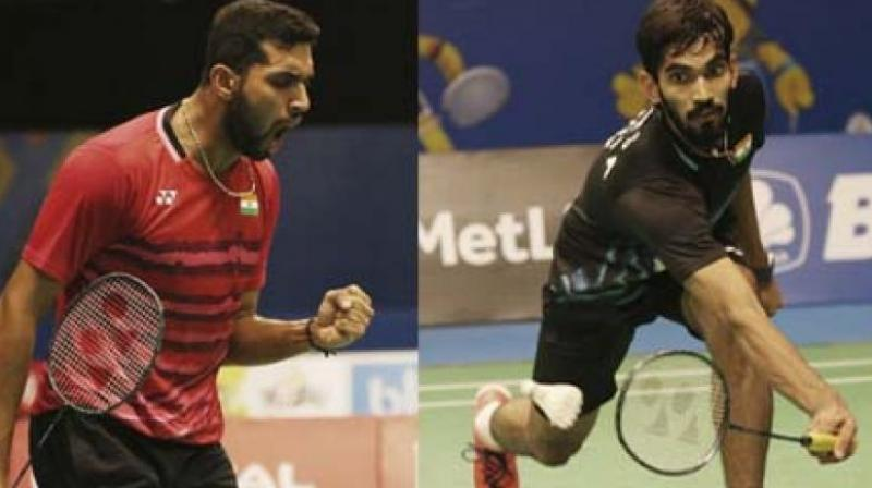 It will be another pulsating battle between Srikanth and Prannoy, who have played four times in their international career but it was the former who had the last laugh on last three occasions. The only time HS Prannoy had beaten Kidambi Srikanth was way back in 2011 at Tata Open.(Photo: AP)