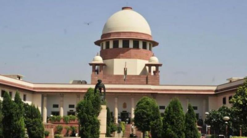 A bench of Justices Adarsh Kumar Goel and UU Lalit said two decisions taken on August 24, 2007 and January 29, 2010 with regard to dropping of acquisition and closing of proceedings respectively were taken to 'confer advantages and benefits upon the builders/private entities rather than to carry out or effectuate public purpose'. (Photo: File)
