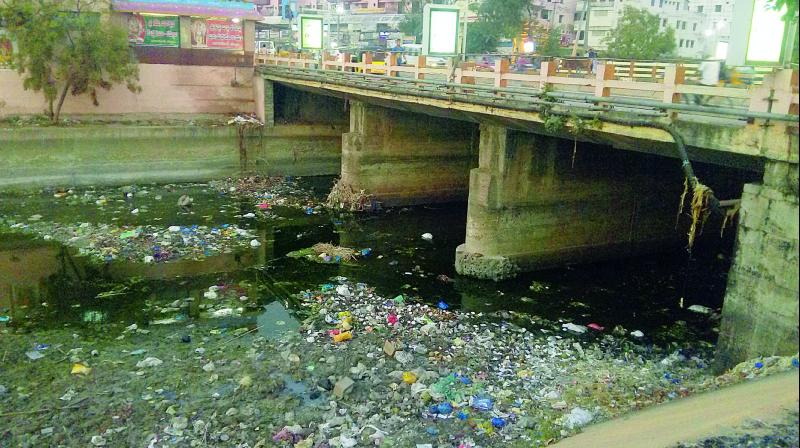 Kurnool-Kakapo canal (KC canal) which passes through the Kurnool city is now made unfit for drinking water purpose.