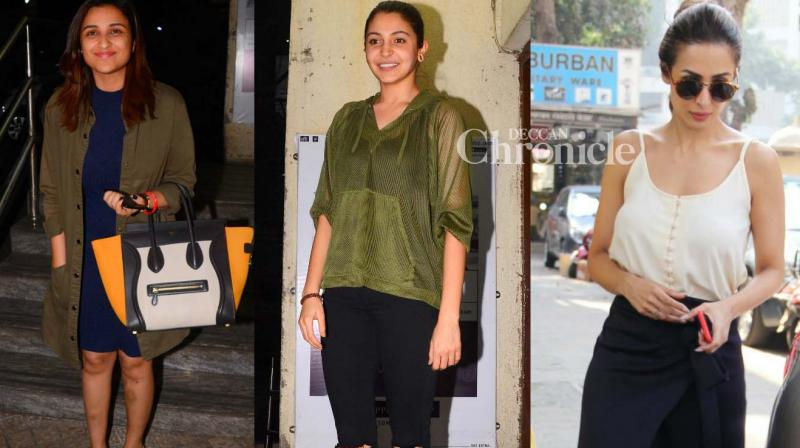 Numerous Bollywood stars were snapped in Mumbai, while others roamed around for professional and personal reasons on Monday. (Photo: Viral Bhayani)