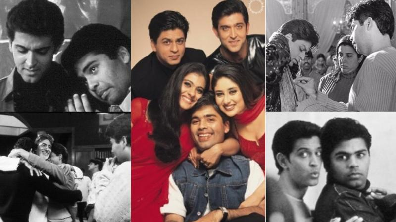 On the occasion of 16 years of 'Kabhi Khushi Kabhie Gham', Karan Johar went into nostalgia mode, sharing unseen behind-the-scenes moments on Instagram.