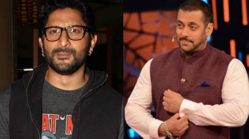 Arshad Warsi and Salman Khan had worked together in 'Maine Pyaar Kyun Kiya?'