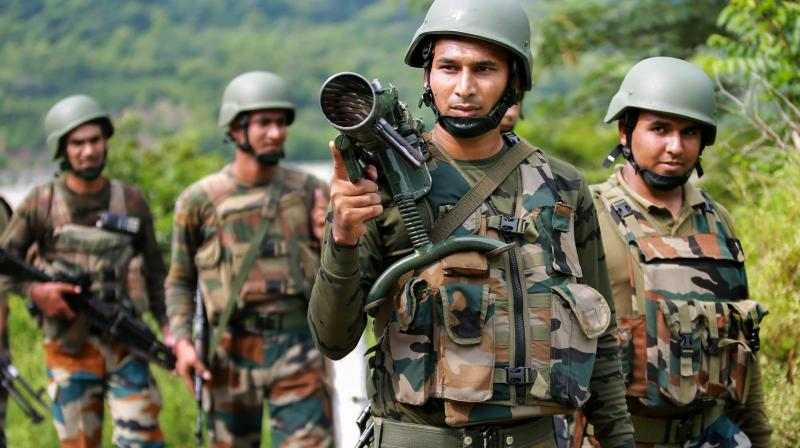This comes after an unprovoked ceasefire violation was started by the Pakistani side to push infiltrators into the Indian side. (Photo: Representational)