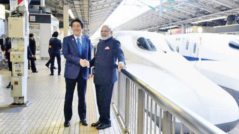 The plan to get a bullet train from Japan should be dropped entirely until we establish our own technologies.