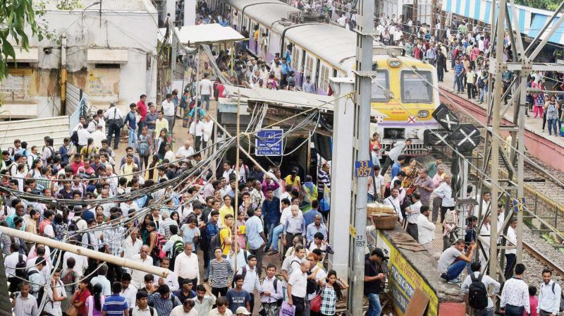 Mumbai does not have enough amenities for half the people living in it.