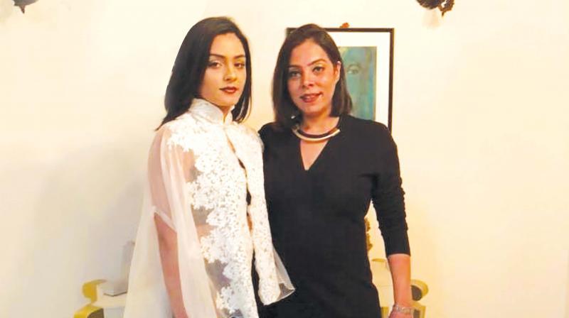 Sayesha and Jyoti