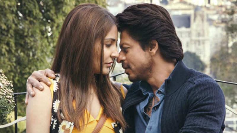 Shah Rukh Khan and Anushka Sharma in 'Jab Harry Met Sejal.'