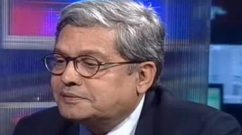 Journalist Dilip Padgaonkar (Photo: video grab)