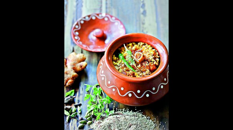 CHICKEN MILLET BIRYANI