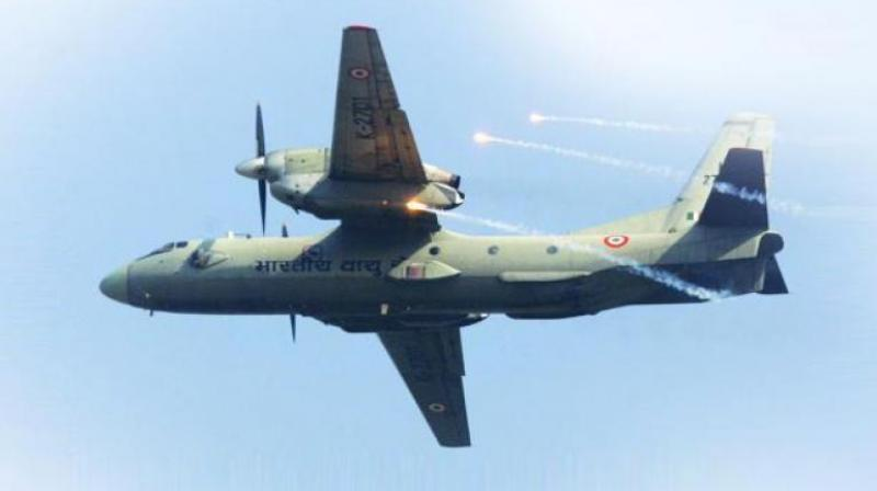 The Russian-origin AN-32 aircraft with 13 people on board lost contact on Monday afternoon after taking off from Jorhat in Assam for Menchuka advanced landing ground near the border with China.(Representational image)