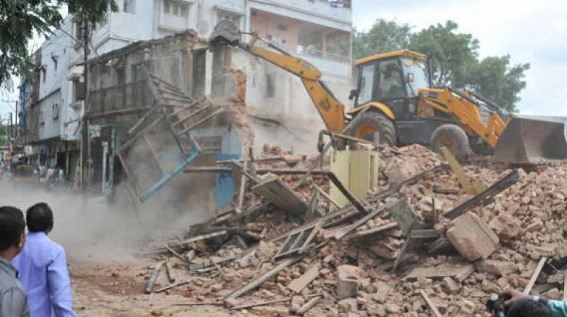 Their houses have been demolished for creating parks under smart city scheme.  (Representional Image)
