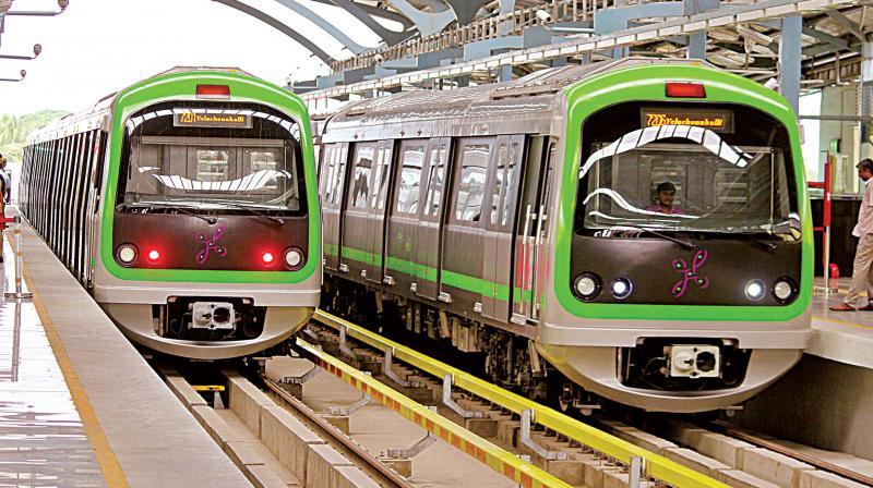 Namma Metro's Purple Line (for representation only)