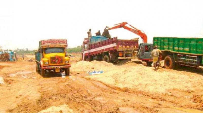 On Thursday also, when they were engaged in sand mining, sand caved in and they were buried. The other workers could be rescued, but Thangavel died on the spot. It took two hours to take out the victim from the sand mound, police said. Three other injured workers are undergoing treatment at a private hospital in the city. (Representational Image)