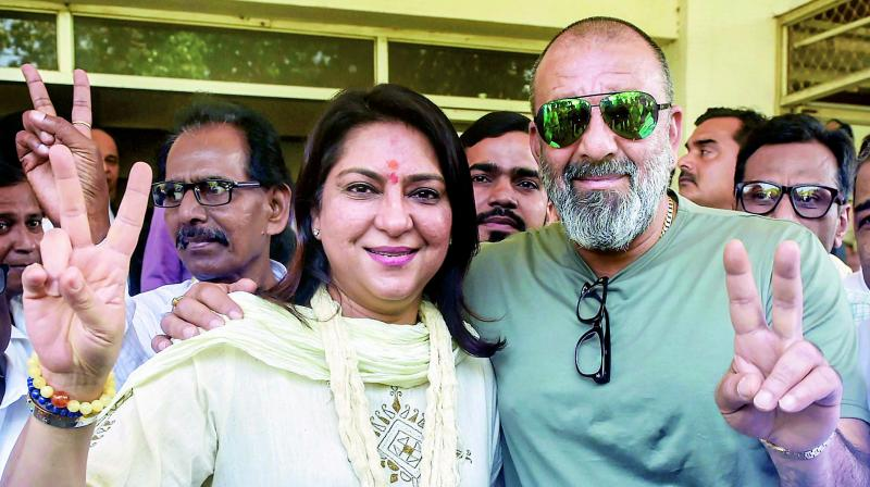 Priya Dutt talks about contesting against BJP's Poonam Mahajan, striking a balance between her personal and professional life and learning from brother Sanjay Dutt and father Sunil Dutt, who always supported her.
