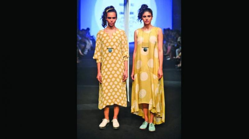 Naushad, who started his label in 2014, studied at NIFT, Chennai (2008) and lived in Bengaluru for a few years honing his design skills.