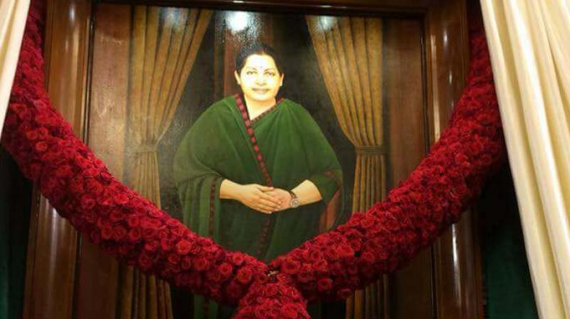 Tamil Nadu Assembly Gets Jayalalithaa Portrait, DMK Calls It