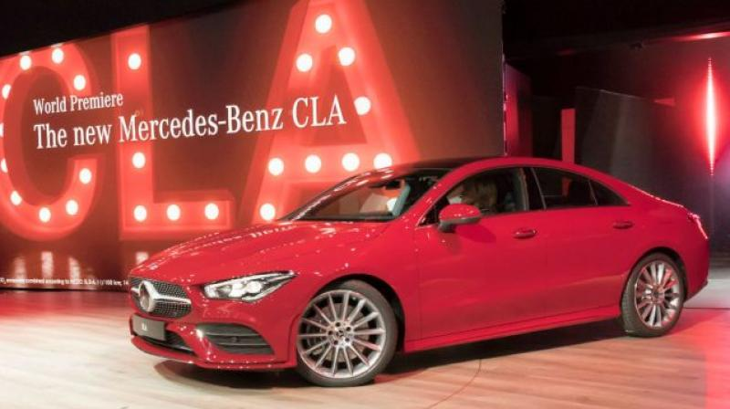 New Mercedes Benz Cla Coupe Unveiled Expected In India In 2019 20