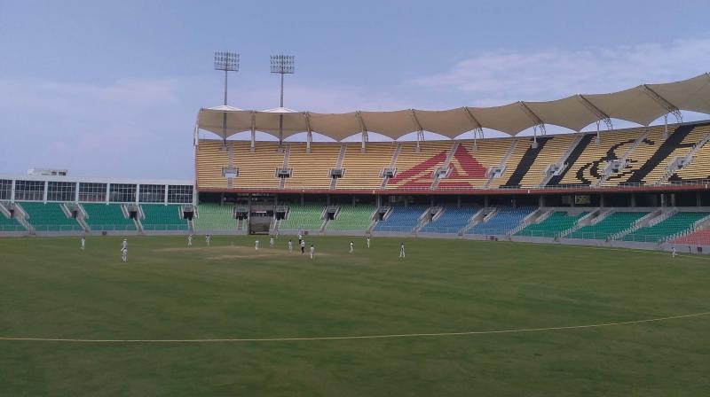 Green Field Stadium at Karyavattom in Thiruvananthapuram.  (Photo: DC)