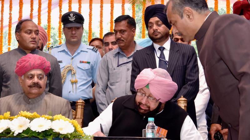 Captain Amarinder Singh, the Chief Minister of Punjab. (Photo: PTI)