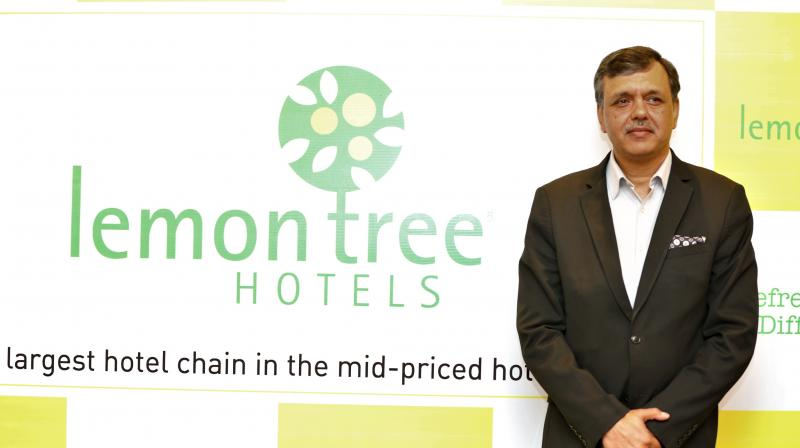 Lemon Tree Hotels Senior Vice President (Operations) Sumant Jaidka (Photo: File)