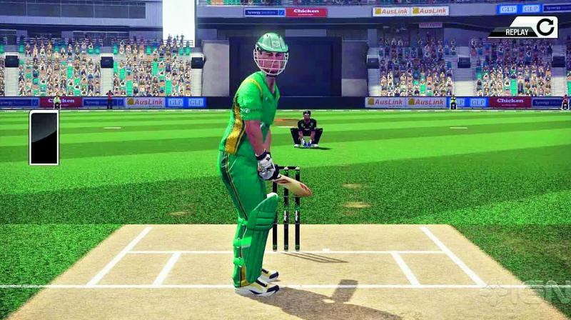 Game Review Don Bradman Cricket 17 Bat Away
